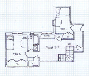 Proposed Upper Floor Plan
