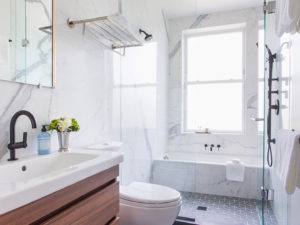 Greenwood Heights Roof Addition - master bathroom