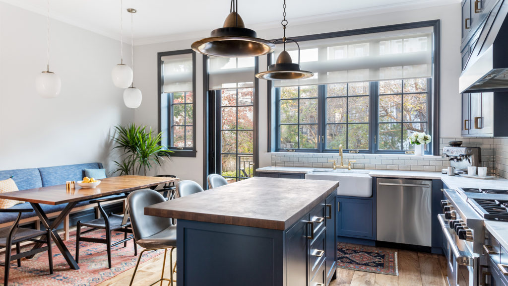 Carroll Gardens Brownstone Kitchen