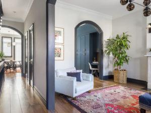 Carroll Gardens Brownstone Living Room